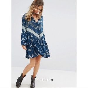 Free People From Your Heart Boho Dress size Small